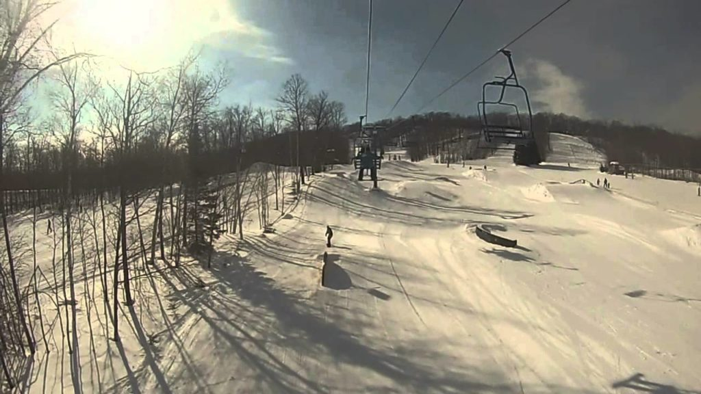 christie mtn skiiing